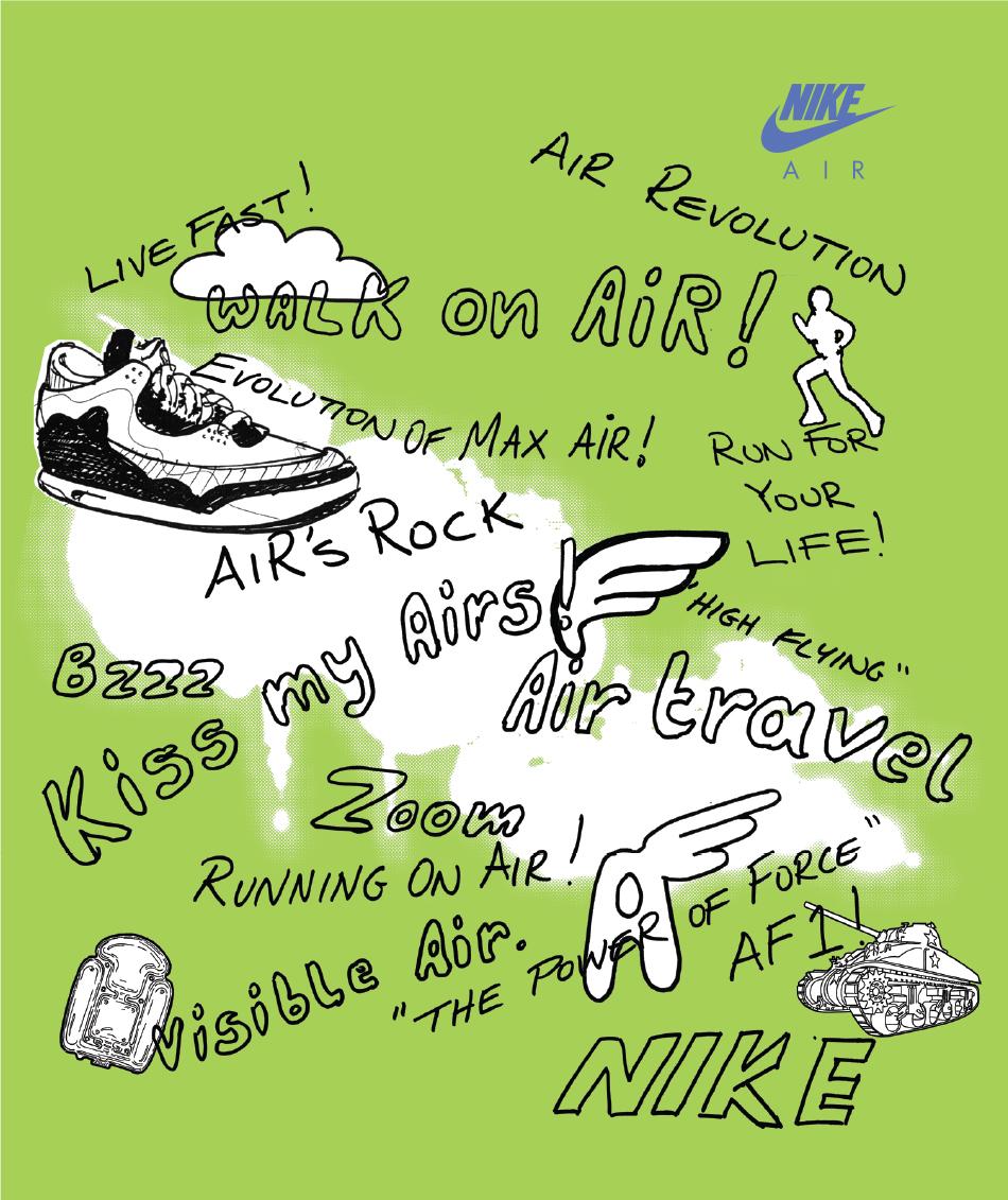 Nike Postcards set 1C