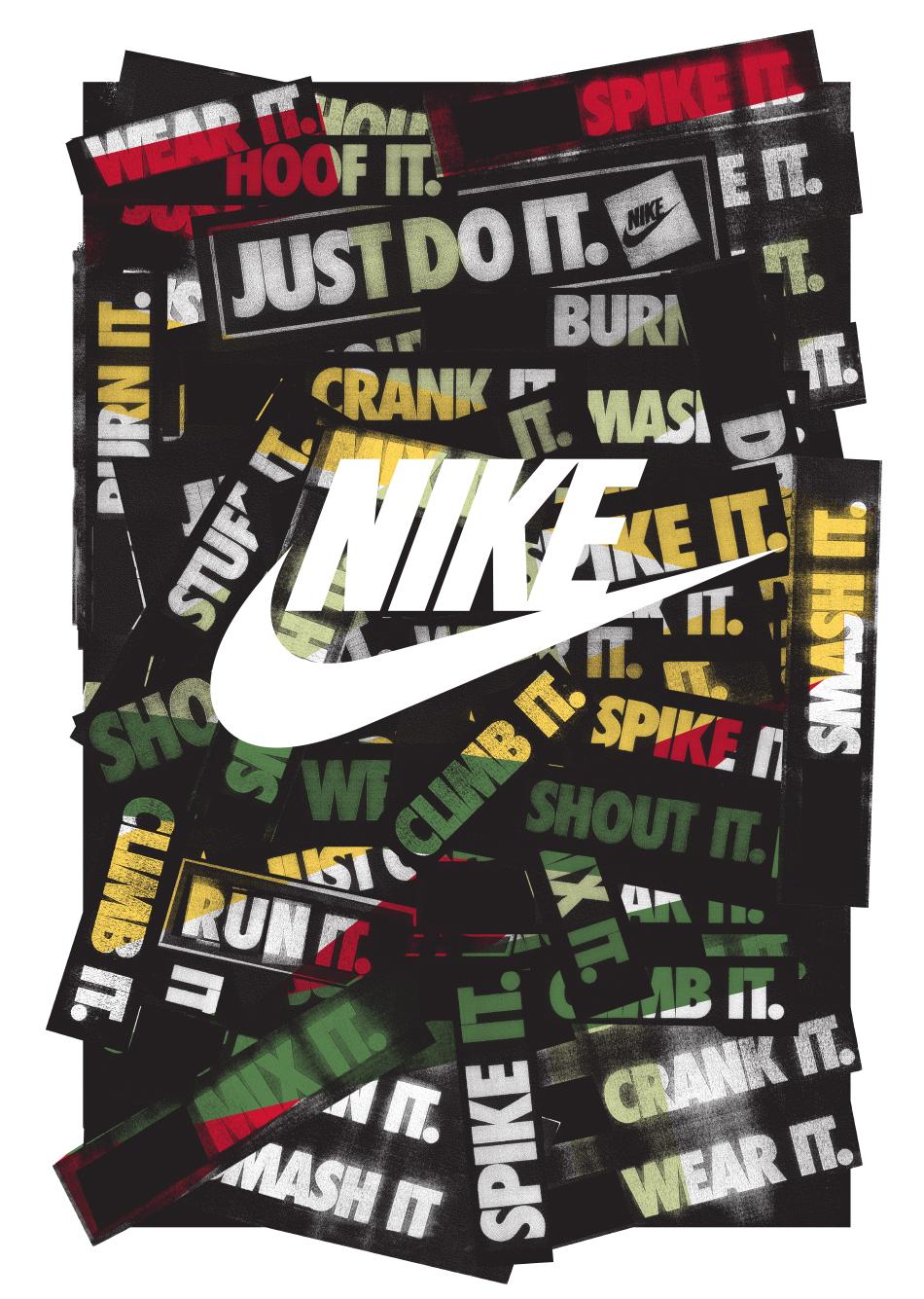 Nike Postcards set 1F