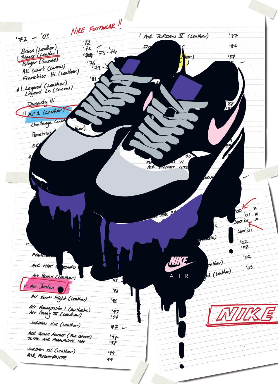 Nike Postcards set 3C