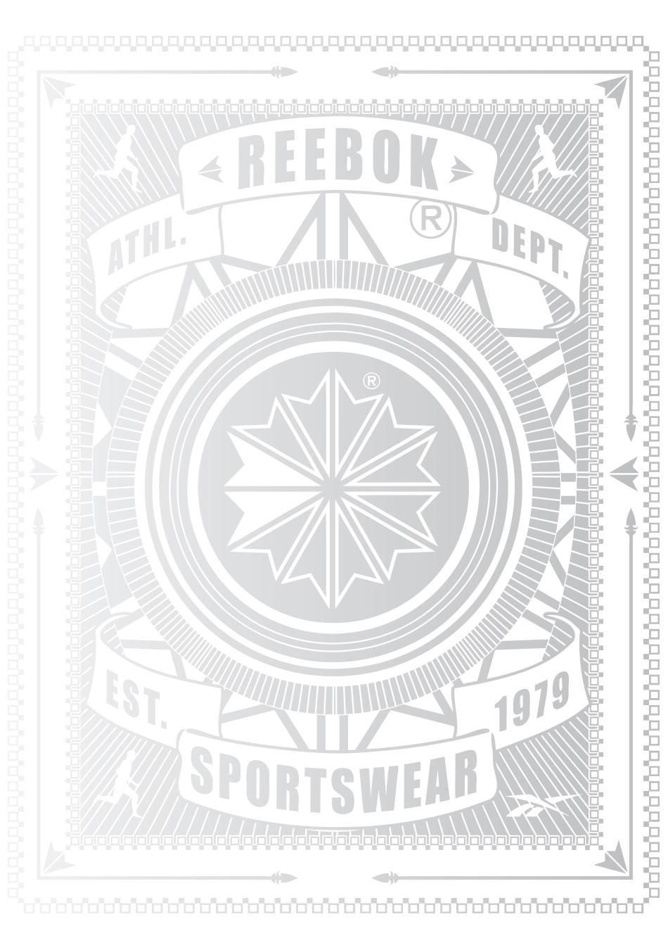 Reebok Postcards set 12