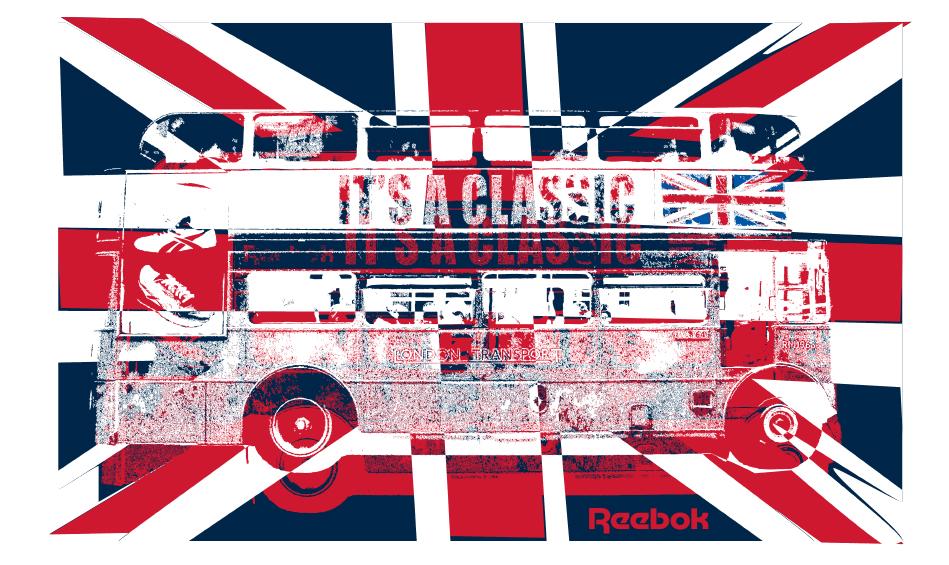 Reebok Postcards set 20