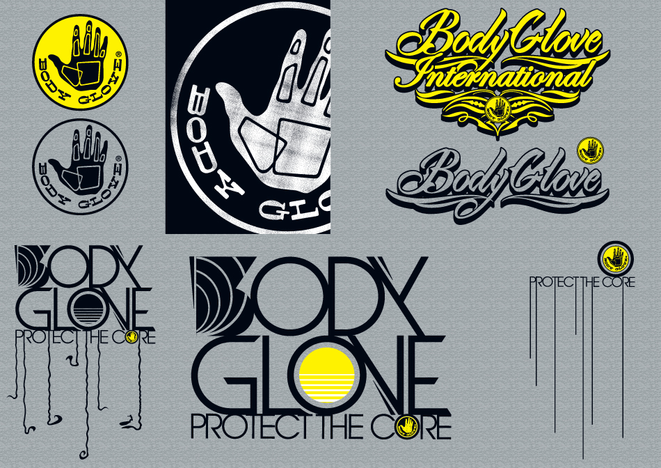 BodyGlove Postcards set 2