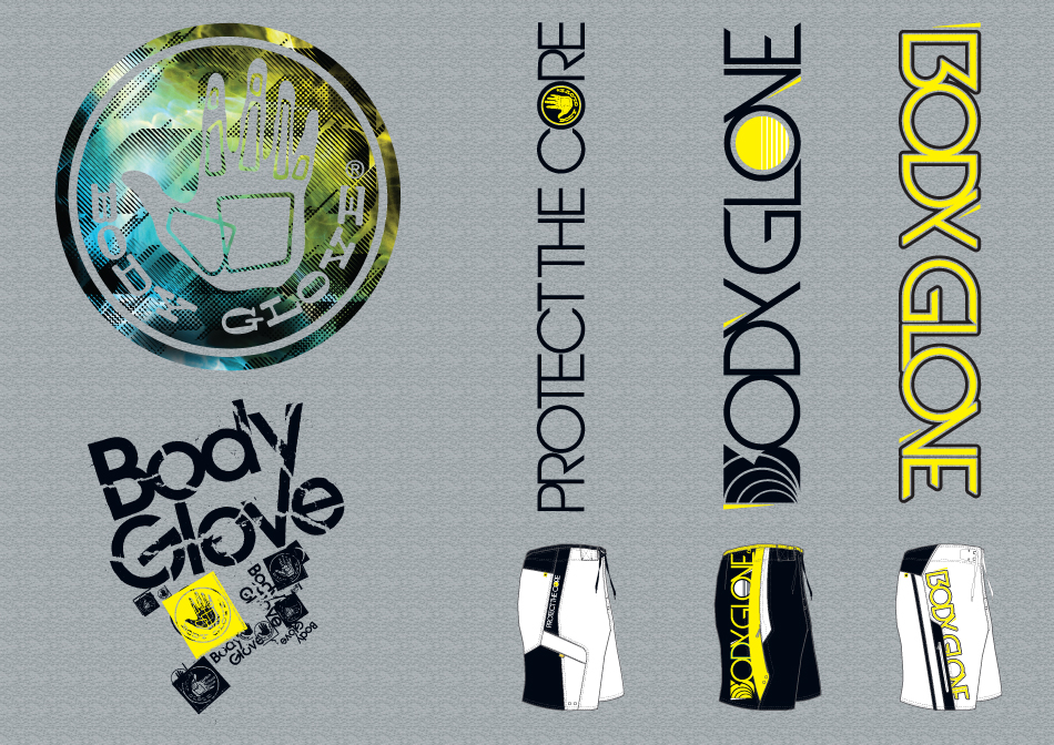 BodyGlove Postcards set 2