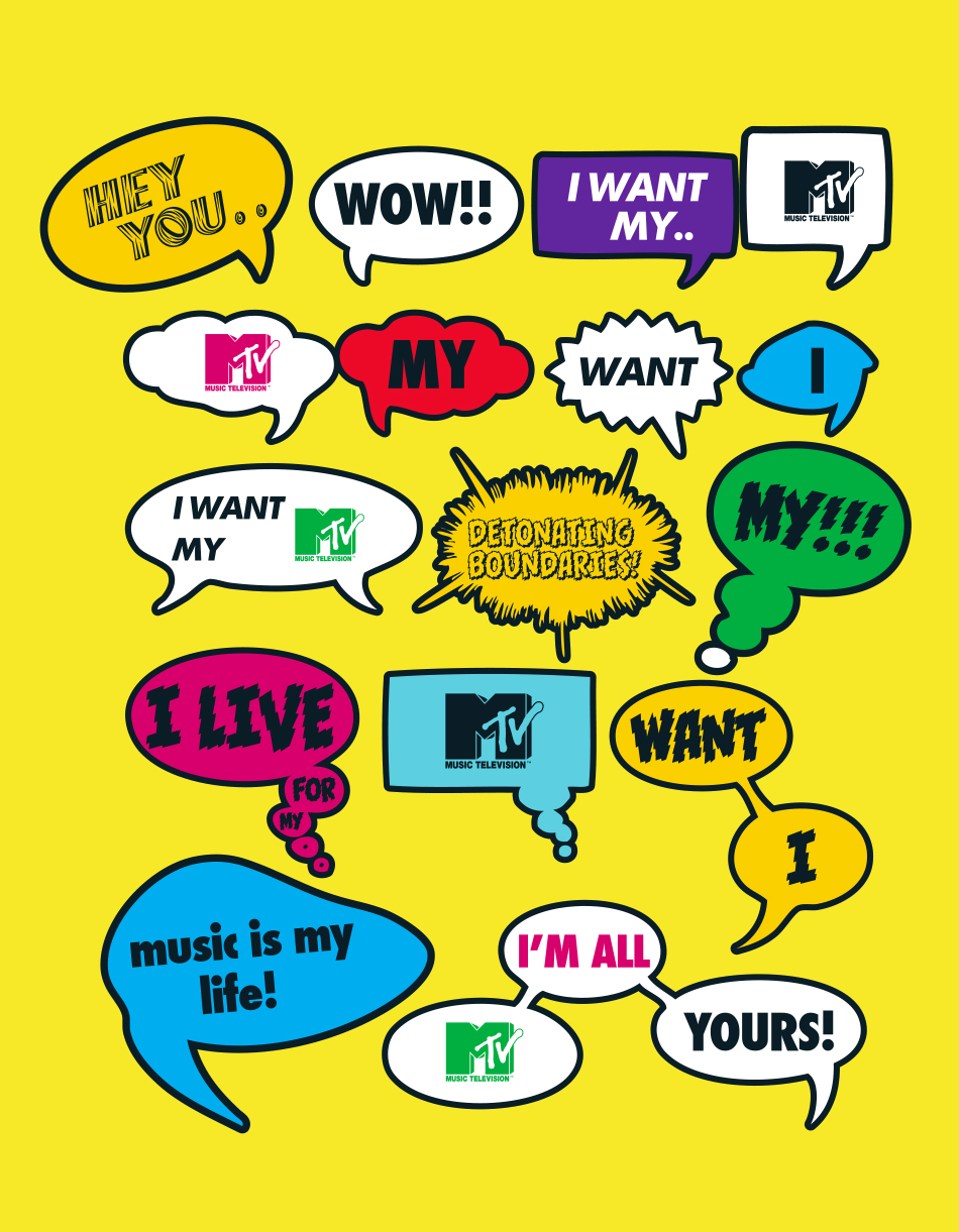 MTV Postcards set 7