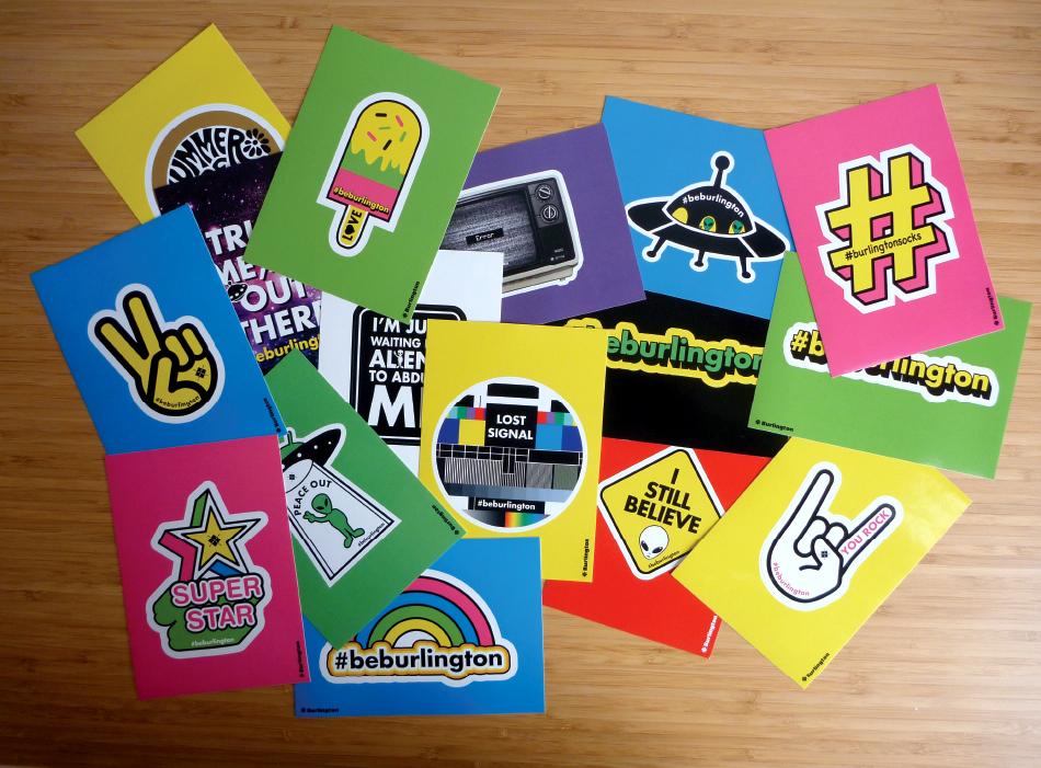 Falke_Burlington Postcards set 120